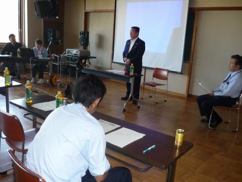 9月安全会議(健康の重要性/本間病院様より健康指導)
