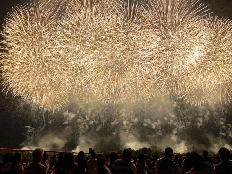 感動の赤川花火大会