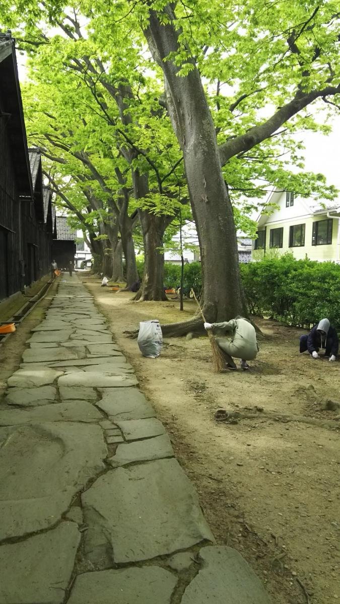 山居倉庫ボランティア清掃