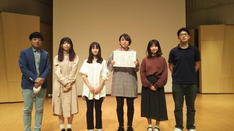 最優秀賞受賞!!(ニゴロデザイン × 松山観光バス × 東北公益文科大学